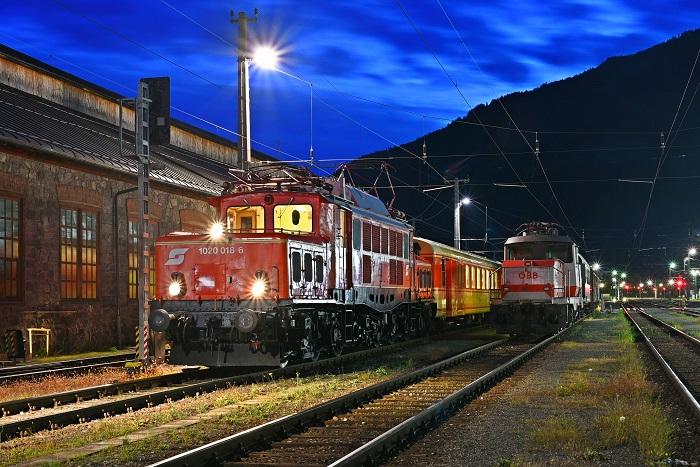Morgenstimmung am Bahnhof Lienz