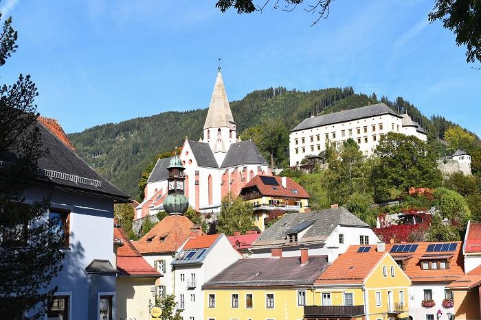 Ein letzter Blick auf Mauterndorf